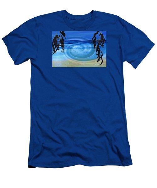 Eucalyptus Ocean View Men's T-Shirt (Athletic Fit)
