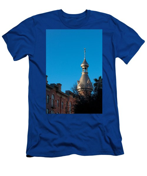 Men's T-Shirt (Slim Fit) featuring the photograph Facade And Minaret by Ed Gleichman
