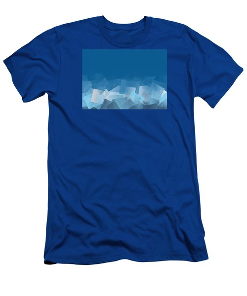 Men's T-Shirt (Slim Fit) featuring the digital art Fallout by Jeff Iverson