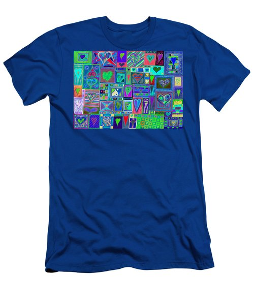 find U'r Love found    v13 Men's T-Shirt (Athletic Fit)