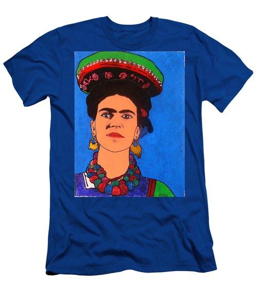 Frida Kahlo Men's T-Shirt (Slim Fit) by Roberto Prusso