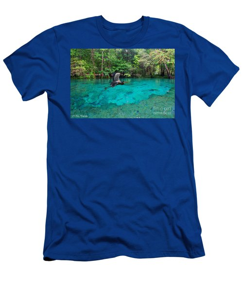 Ginnie Springs Men's T-Shirt (Athletic Fit)