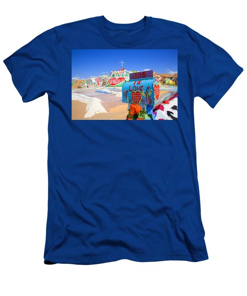 Men's T-Shirt (Slim Fit) featuring the photograph God's Mailbox by Hugh Smith