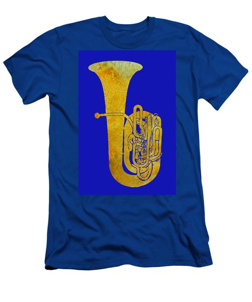 Golden Tuba Men's T-Shirt (Athletic Fit)