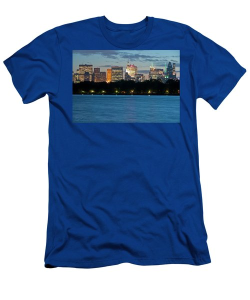 Great Pond Skyline Men's T-Shirt (Athletic Fit)