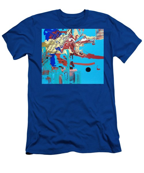 Hippopotomonstrosesquippedaliophobia Men's T-Shirt (Athletic Fit)