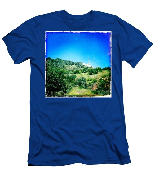 Men's T-Shirt (Slim Fit) featuring the photograph Hollywood by Nina Prommer