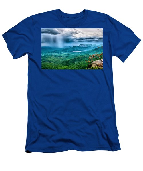 Men's T-Shirt (Slim Fit) featuring the photograph Incoming Storm by Lynne Jenkins