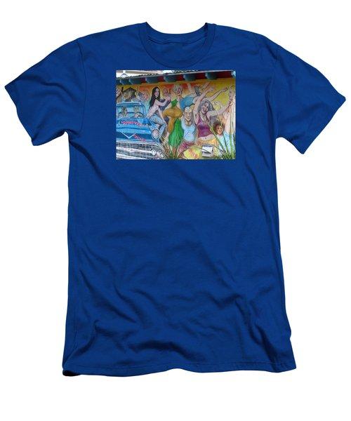 Keeping It Weird In Austin Men's T-Shirt (Slim Fit) by Patti Whitten