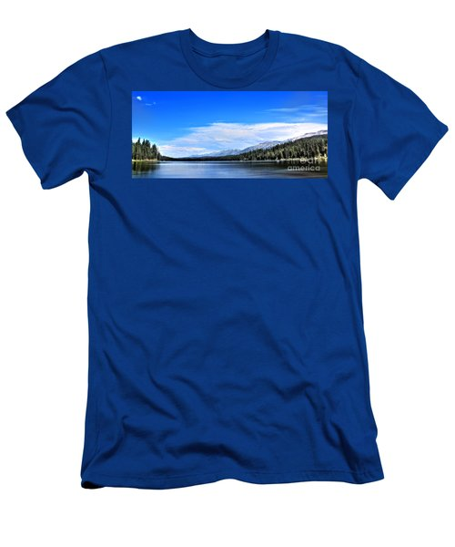 Men's T-Shirt (Slim Fit) featuring the photograph Lake Alva by Janie Johnson
