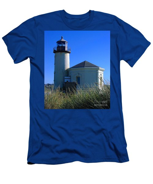Lighthouse Men's T-Shirt (Slim Fit) by Rory Sagner