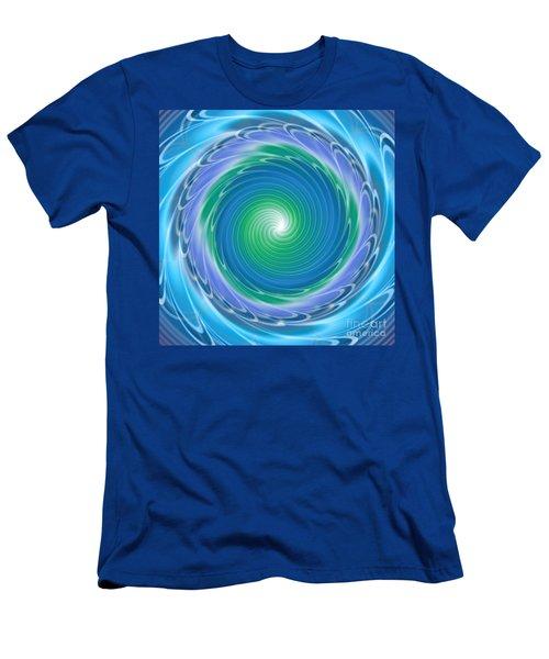 Mandala Spin Men's T-Shirt (Athletic Fit)