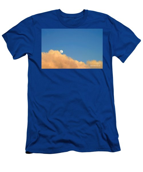 Moon At Sunset Men's T-Shirt (Athletic Fit)