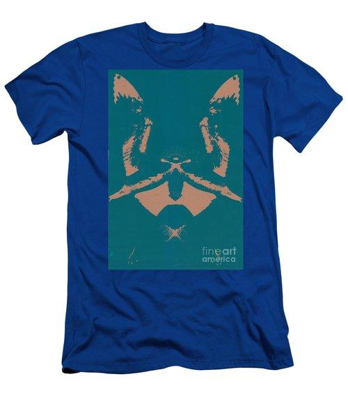 No Limits In Blue Men's T-Shirt (Athletic Fit)