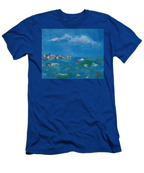 Ocean Delight Men's T-Shirt (Slim Fit) by Judith Rhue