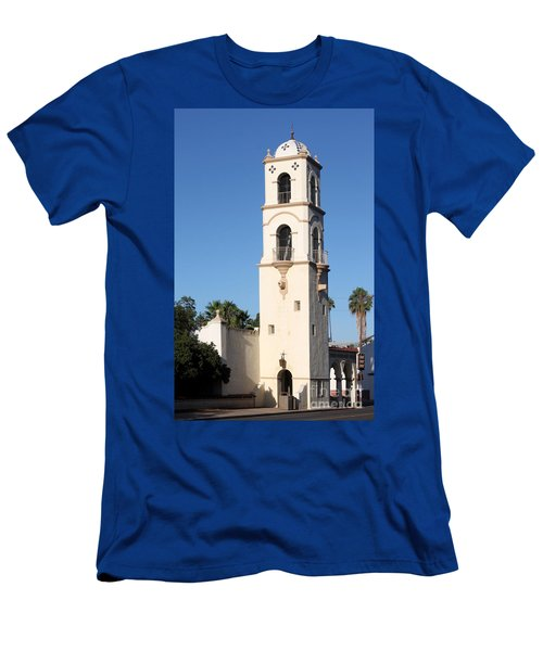 Ojai Post Office Tower Men's T-Shirt (Athletic Fit)