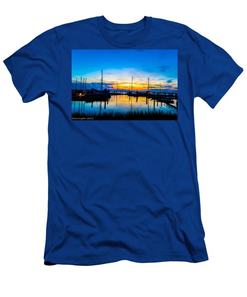 Peacefull Sunset Men's T-Shirt (Athletic Fit)
