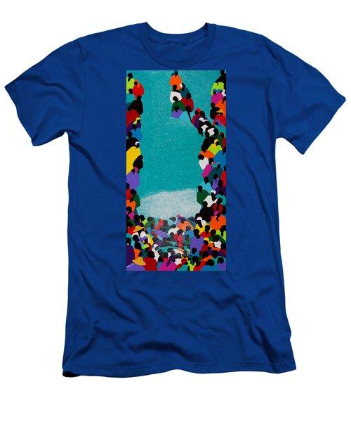 Pilgrimage Saut D'eau Men's T-Shirt (Athletic Fit)