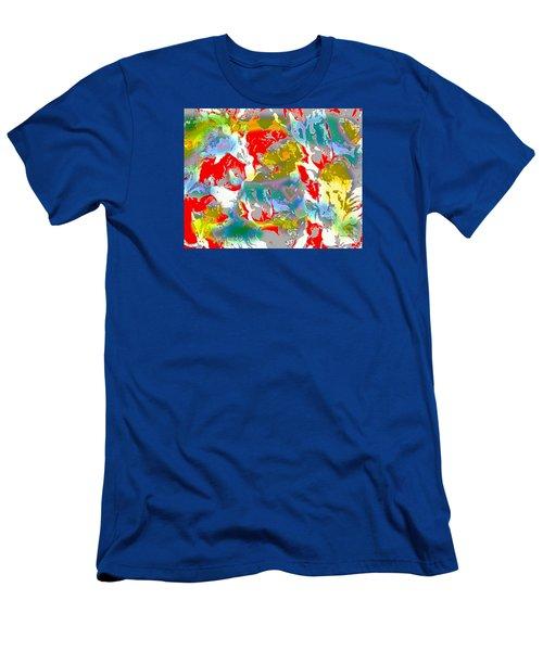 Men's T-Shirt (Slim Fit) featuring the digital art Secrets by Beth Saffer