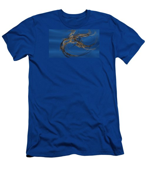 Men's T-Shirt (Slim Fit) featuring the digital art Selbstvertrauen by Jeff Iverson