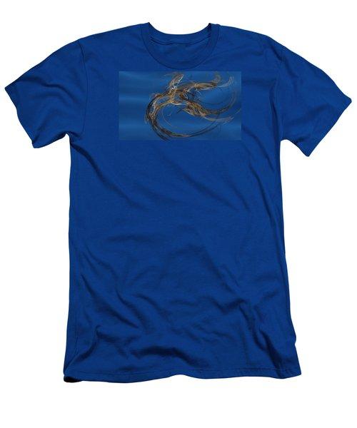 Selbstvertrauen Men's T-Shirt (Athletic Fit)