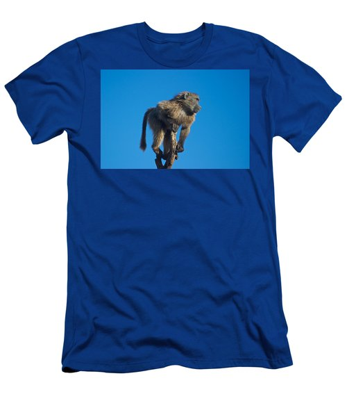 Sentry Baboon Namibia Men's T-Shirt (Athletic Fit)