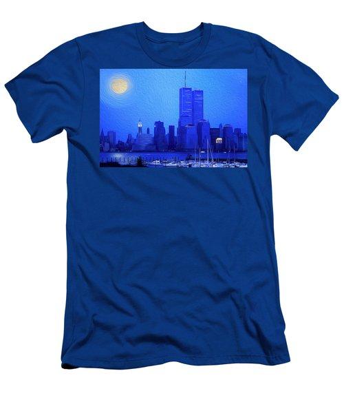 Silent Summer Men's T-Shirt (Athletic Fit)