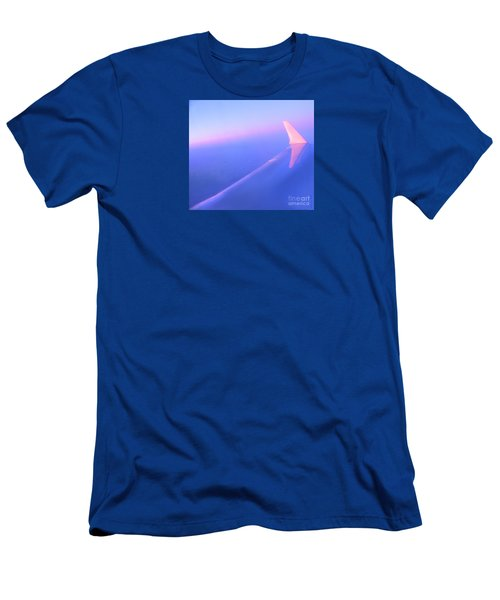 Skybluepink Men's T-Shirt (Athletic Fit)