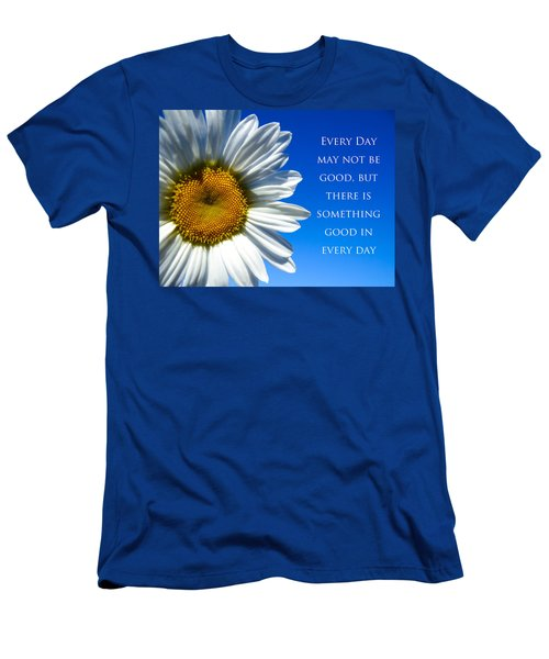 Something Good Men's T-Shirt (Slim Fit) by Julia Wilcox