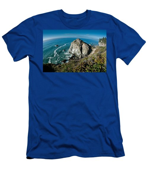 The World Is Round Men's T-Shirt (Athletic Fit)
