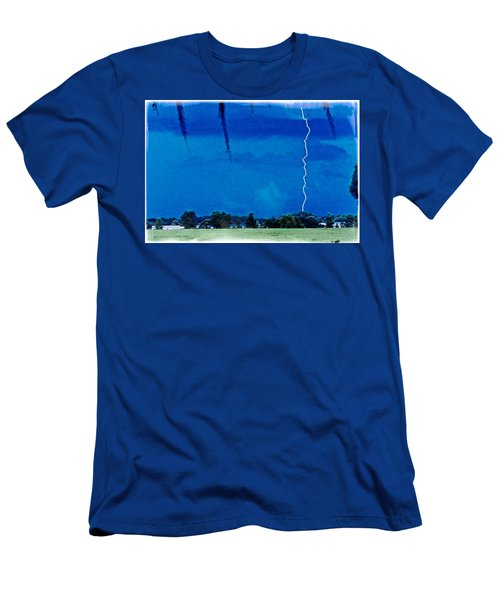 Men's T-Shirt (Slim Fit) featuring the photograph Underneath- My Fears by Janie Johnson