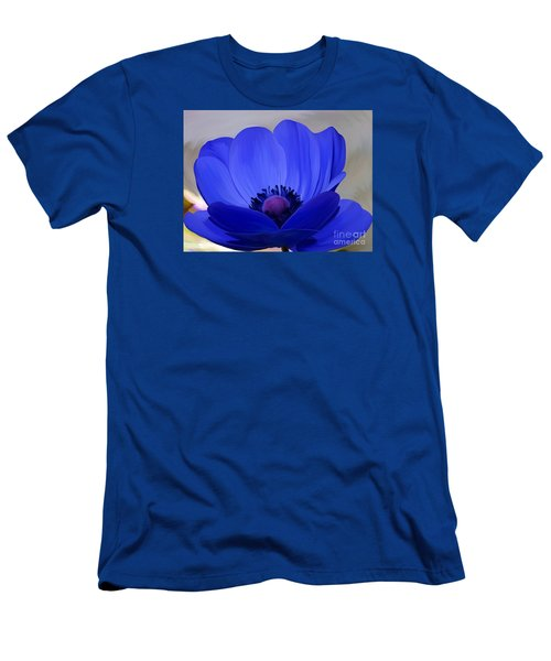 Windflower Men's T-Shirt (Slim Fit) by Patricia Griffin Brett