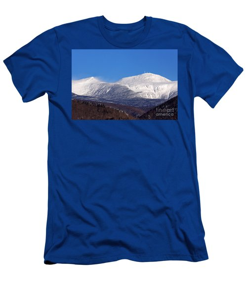 Windy Day At Mt Washington Men's T-Shirt (Athletic Fit)
