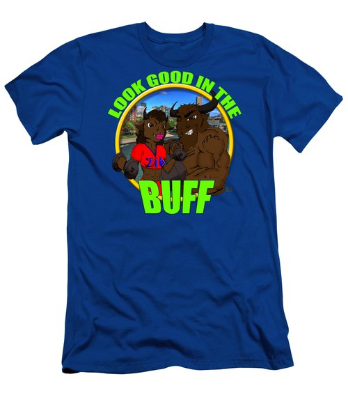 01 Look Good In The Buff Men's T-Shirt (Athletic Fit)