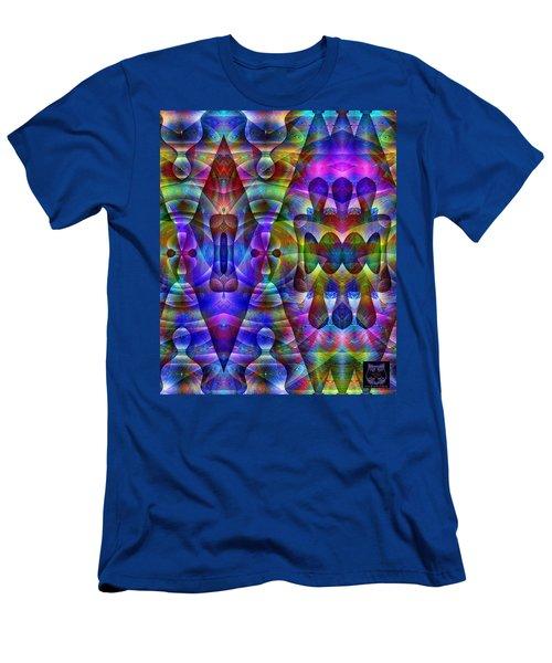 Men's T-Shirt (Athletic Fit) featuring the digital art #030520165 by Visual Artist Frank Bonilla
