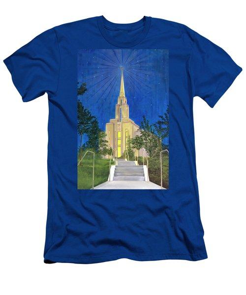 Angel Portal Men's T-Shirt (Athletic Fit)