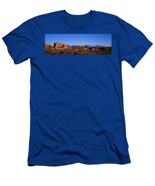 Arches National Park, Moab, Utah, Usa Men's T-Shirt (Athletic Fit)