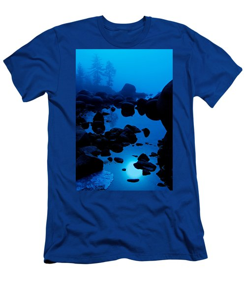 Arise From The Fog Men's T-Shirt (Slim Fit) by Sean Sarsfield