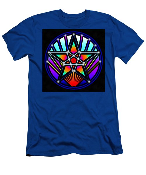 Men's T-Shirt (Athletic Fit) featuring the digital art Bending Time by Derek Gedney