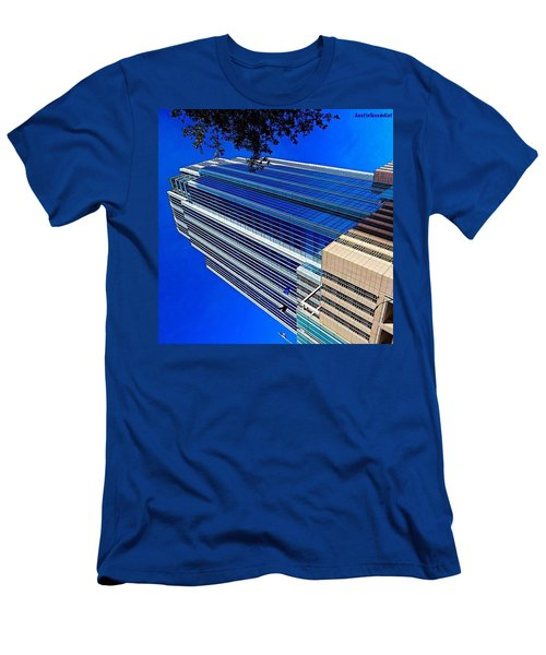 #blue Blue Tuesday.  #bluesky And Blue Men's T-Shirt (Athletic Fit)