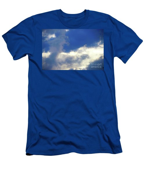 Blue Men's T-Shirt (Slim Fit) by Jesse Ciazza