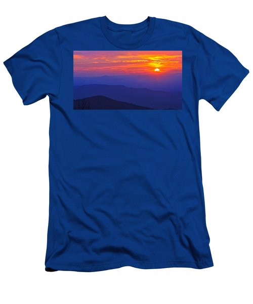 Blue Ridge Parkway Sunset, Va Men's T-Shirt (Athletic Fit)