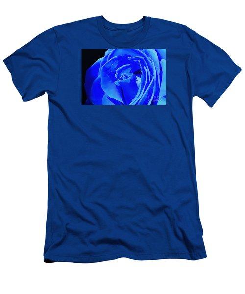 Blue Romance Men's T-Shirt (Athletic Fit)