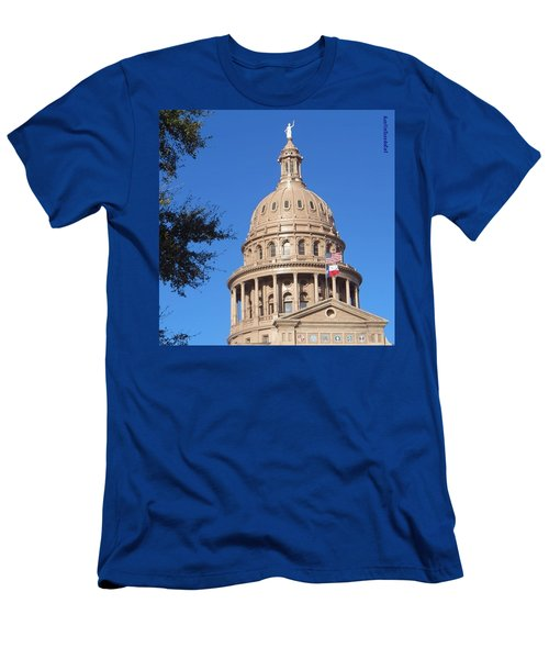 #bluesky And The Best #realestate In Men's T-Shirt (Athletic Fit)