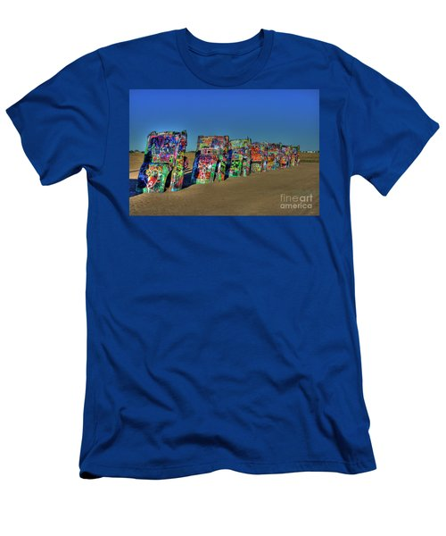 Cadillac Ranch 2 Men's T-Shirt (Athletic Fit)