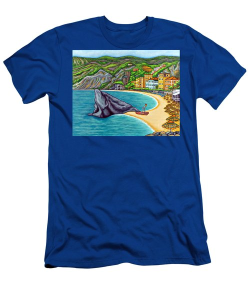 Colours Of Monterosso Men's T-Shirt (Athletic Fit)