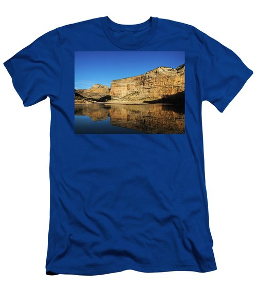 Men's T-Shirt (Athletic Fit) featuring the photograph Echo Park In Dinosaur National Monument by Nadja Rider