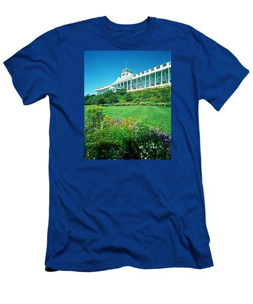 Grand Hotel From Tea Garden Men's T-Shirt (Athletic Fit)