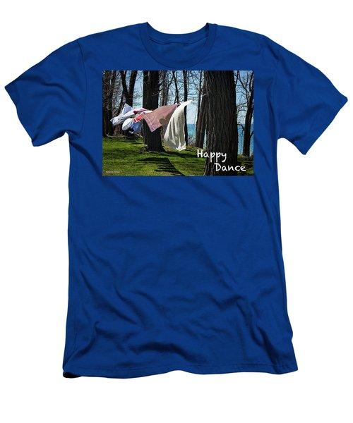 Happy Dance Men's T-Shirt (Athletic Fit)