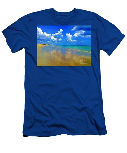 Jensen Beach  Men's T-Shirt (Athletic Fit)